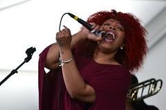 Alexis Spight, New Orleans JazzFest 2016 (Alexander C. Kafka) Tags: new portrait music concert orleans livemusic sing singer jazzfest gospel alexisspight jazzfest16