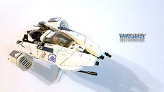 "Phantom A01 ""Bricike"" (Horcik Designs) Tags: plane star fighter lego space scifi fi sci starfighter"