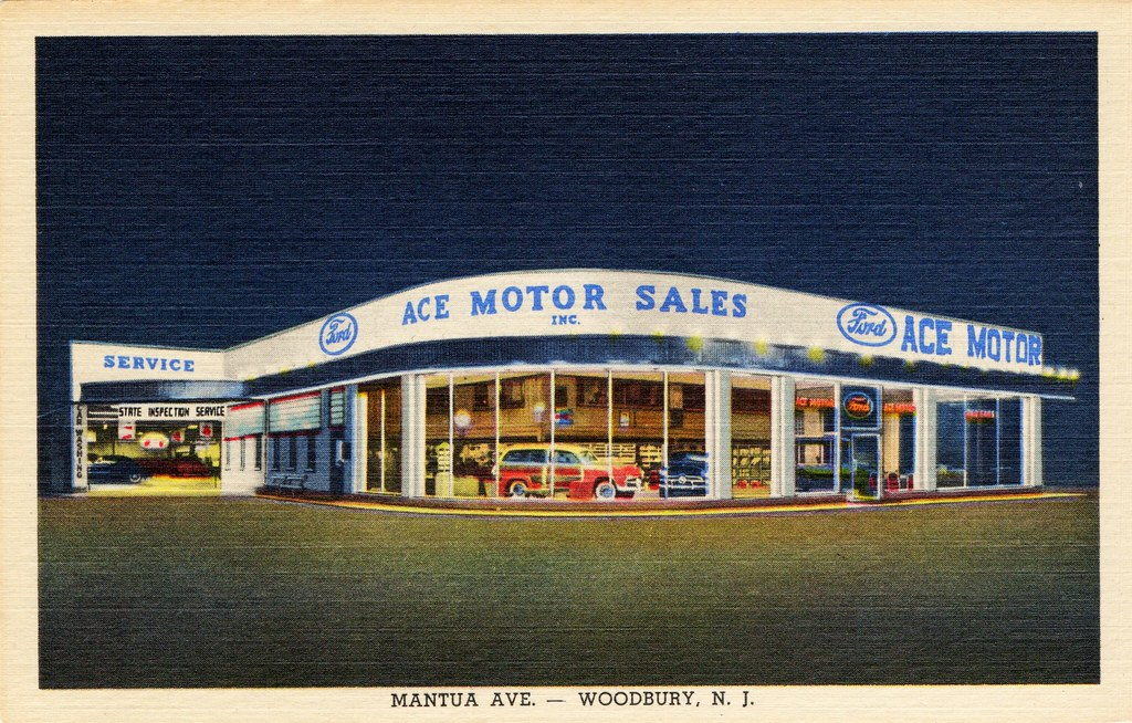 The world 39 s best photos of dealership and postcard for Ace motors woodbury nj
