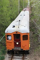 A view from Above (Laurence's Pictures) Tags: railroad chicago electric museum wisconsin coach bend south troy east shore interurban csssb