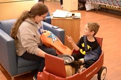 Superhero Breakfast (Penn State Hershey) Tags: family anna spiderman patient superheroes care elsa centered pennstatehersheychildrenshospital