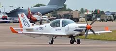 Grob G120TP D-ETPG (Fleet flyer) Tags: gloucestershire riat royalinternationalairtattoo grob raffairford detpg grobg120tp g120tp g120tpdetpg grobg120tpdetpg