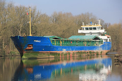 Pinnau (North Ports) Tags: manchester canal ship locks peel trafford salford ports msc irlam mmsi pinnau 211511440