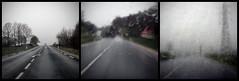La migration des essuie-glaces (Ben Bill) Tags: road triptych pluie route triptyque