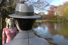 I am here..... (peeteninge) Tags: holland art love statue kunst liefde beeld