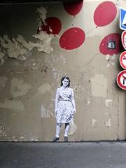 rue Mouffetard (Leo & Pipo) Tags: street city urban streetart paris france pasteup art collage wall vintage paper poster french graffiti artwork stencil sticker leo handmade cut wheatpaste paste tag retro affichage pipo rue mur papier ville affiche urbain colle leopipo