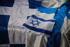 Flags (Jouni Niirola) Tags: suomi finland israel flag jesus flags yeshua flagga lippu jeesus liput flaggor