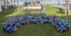 Photogroup at Alila Seminyak (ynrmice) Tags: bali corporate group it event conference annual finance seminyak