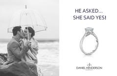 Happy Beginnings (dhjewellers) Tags: scotland edinburgh diamond proposal platinum weddingplanning threestone edinburghjewellers edinburghproposal