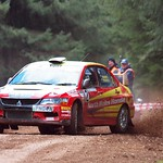 Mitsubishi EVO, Somerset Stages Rally thumbnail