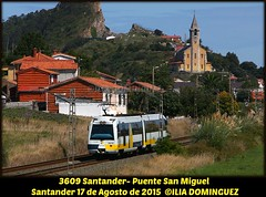 idn6132 (ribot85) Tags: railroad train tren trenes trains railways santander cantabria renfe 3600 feve 3609 sunsundegui renfeviajeros