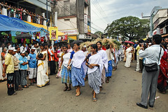Kerala - The progress of the Rural Women at the Attachamyam (Anoop Negi) Tags: street carnival india festival photography photo fair kerala parade carnaval anoop onam negi tripunithra ezee123 attachamayam thripunnitha