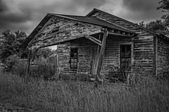 Abandoned Gas Station - North Zulch (Mike Schaffner) Tags: old blackandwhite bw abandoned monochrome truck us blackwhite texas unitedstates pickup gas gasstation gasoline derelict gaspump northzulch