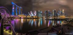 Marvels Captain America: Civil War (Leslie Hui) Tags: city panorama night singapore cityscape nightscape mbs marinabay panoromic marinabaysands singaporefinancialdistrict