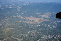 Aerial photograph of Mountain View, Palo Alto, and Menlo Park, California (cocoi_m) Tags: california nature aerial pacificocean sanandreasfault paloalto elcaminoreal mountainview woodside highway101 menlopark losaltoshills portolavalley losaltos i280 slac aerialphotograph santaclaracounty sanmateocounty stanforduniversity interstate280