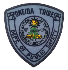 Oneida Tribes Dept. of Public Safety Patch (Nate_892) Tags: county green wisconsin bay coin conservation police grand valley badge fox milwaukee waukesha sheriff patch tribe sheboygan gresham wi chute challenge swat oneida outagamie