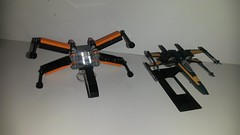 20160424_001850 (p13c30fch33s3) Tags: starwars lego mini xwing poes resistance t70 30278