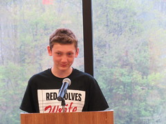 IMG_3740 (mosaic36) Tags: red college early slam poetry write wolves 2016 ecpa