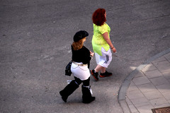 Howdy Cowgirl (josephzohn   flickr) Tags: girls people fromabove mnniskor uppifrn