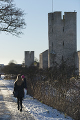 A walk along the wall (arkland_swe) Tags: wall medieval gotland visby worldheritage ringmur