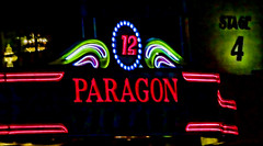 Paragon (raymondclarkeimages) Tags: usa cinema sign canon neon theatre screen entertainment 7d movies 12 movietheater stage4 multiplex paragon 70200mm raymondclarkeimages 8one8studios paragon12