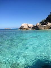 Malinconia, Seychelles (sarabellaleykin) Tags: sea memories seychelles torquoise cocoisland natale2014