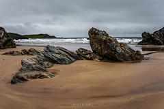 Sango Sands (Eisfried) Tags: uk sea beach rock clouds strand scotland sand meer sony wolken gb sands durness a7 schottland felsen mark2 sango alpha7 grosbritannien