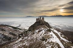 (    Svetlozar ) Tags: winter snow landscape medieval bulgaria fortress