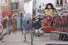 musica da parati (cavide dampo) Tags: voyage street trip travel urban music streetart portugal nature architecture canon graffiti random lisboa lisbon musica fado viaggio architettura 50mmf14 lisbona portogallo fiorella archifield pertual 5dmarkii cavidedampo