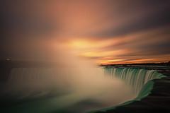 Niagara Falls (angie_1964) Tags: longexposure mist ontario canada sunrise outdoors niagarafalls waterfall explore horseshoefalls nikond800e nikonf41635mm