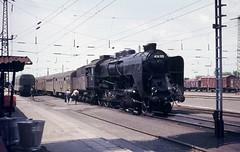 Fzesabony (Hungary), train to Debrecen (Ahrend01) Tags: hungary rail bahn ungarn mav 424 debrecen dampflok steamloco fzesabony