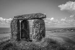 Irish Stone Altar, Old Head Golf Course (t conway) Tags: