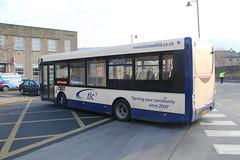 TLC Buses 14856 SN15 LRO 12th February 2016 Otley (2) (asdofdsa) Tags: travel bus buses transport busstop passengers westyorkshire tlc otley 12thfebruary2016leedsarea
