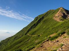 Good day at Mt. Aka-Dake 2,899m (Hiroyoshi Wada) Tags: mountain mountains japan trekking landscape landscapes climbing nagano mtfuji