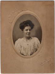 Kate (Katie) Brown, Emily Eleen Hebbard's beloved governess at 21 (avatarsound) Tags: vintage southafrica teacher sa governess