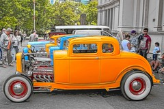Ford Coupe (Thunder1203) Tags: carlton cruising melbourne autoshow adobe hotrod nik hdr classiccars carshow horsepower topaz customcars royalexhibitionbuilding photomatix lr6 cc2016 canoneos5dmkiii victorianhotrodshow2016