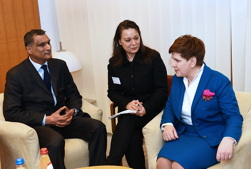 "MEP Syed Kamall and Beata Szydło • <a style=""font-size:0.8em;"" href=""http://www.flickr.com/photos/50295034@N03/24476509376/"" target=""_blank"">View on Flickr</a>"