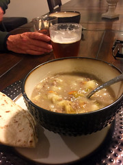 Homemade green chile stew (emdot) Tags: newmexico stew homemade greenchile gracioushosts snowbnb