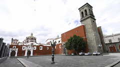 Dominican church in Puebla (Lawrence OP) Tags: tower church mexico dominican dome puebla templostodomingo