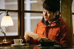 -  ( | YELLOW Mao) Tags: portrait people cinema movie documentary  journalist         yellowmao