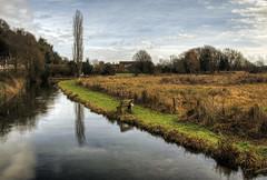 River Test at Wherewell, Hampshire (neilalderney123) Tags: river olympus hampshire omd rivertest 2016neilhoward watyre 2016neilhoward