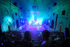 Electronic Music Festival (Chris Acheson Photography) Tags: blue music green canon lights town hall livemusic indoor capetown townhall musicfestival musicphotographer chrisacheson capetownelectronicmusicfestival