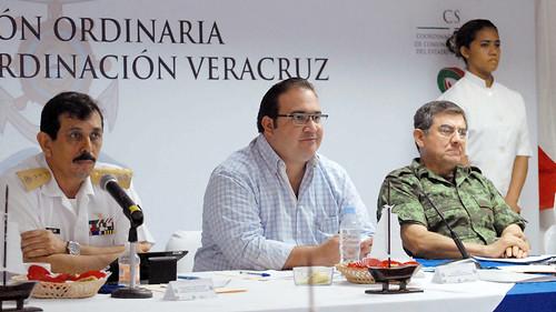 El gobernador Javier Duarte encabezó Desayuno-Reunión del Grupo de Coordinación Veracruz (GCV).