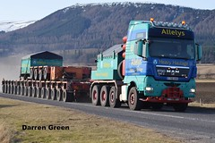 ALLELYS HEAVY HAULAGE MAN TGX 680 V8  T700 AHH (denzil31) Tags: man point heads trailer tow v8 trailers ahh 680 spt spmt alness t700 heavyhaulage tgx goldhofer allelys mantrucks stgocat3 isleburn