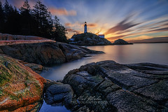 Lighthouse Park West Vancouver (nel.aboloc) Tags: longexposure lighthouse sunrise 10stop