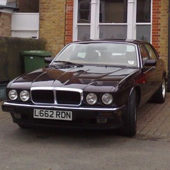 0o \+/ o0 (uk_senator) Tags: burgundy jaguar 1994 xj6 xj40
