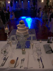 Bride's view (Dale Gillard) Tags: wedding cake table daniel melbourne victoria tahleah bramleighreceptions