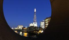 The Shard from Southwark Bridge (Malamute01) Tags: city london thames night photography shard