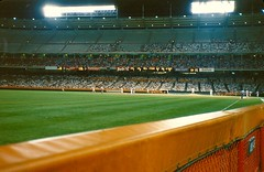 California Angels vs. Chicago White Sox (Cragin Spring) Tags: california ca game night baseball angels 1989 southerncalifornia anaheim whitesox ballpark mlb chicagowhitesox anaheimstadium majorleaguebaseball anaheimca anaheimcalifornia californiaangels