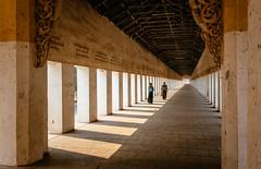 The Entrance to Shwezigon Pagoda, Bagan, Myanmar (syukaery) Tags: trip travel people tourism temple pagoda nikon asia burma 28mm religion buddhism landmark d750 myanmar burmese bagan placeofworship